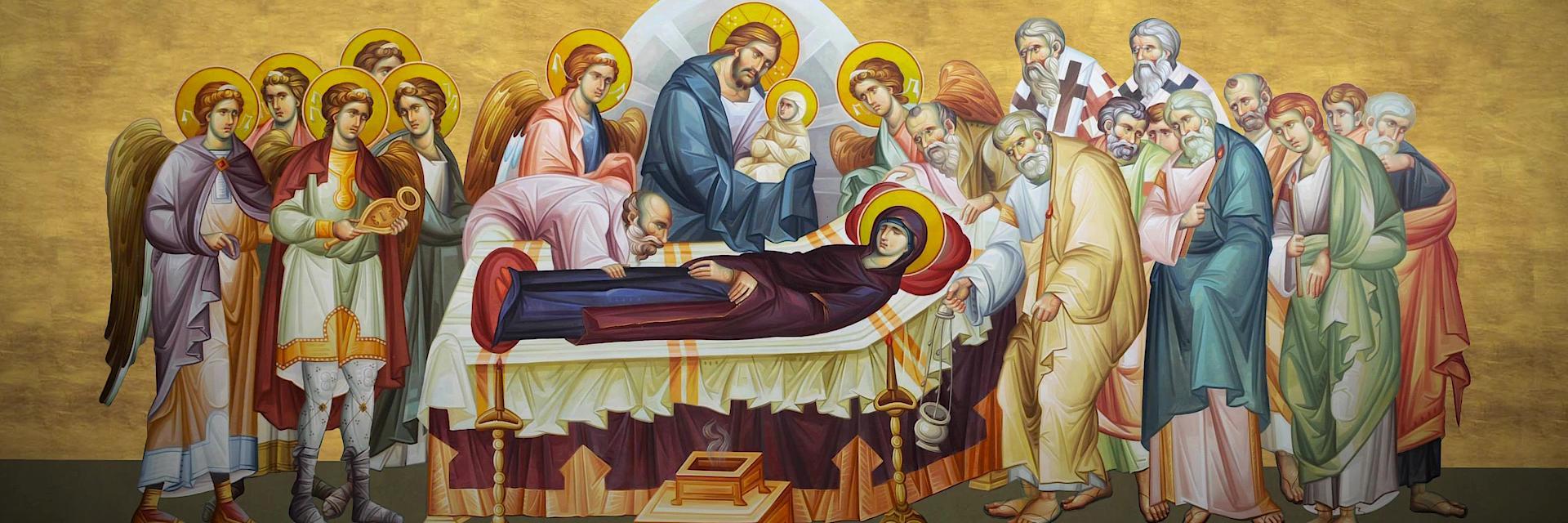 BISERICA SĂRBĂTOREŞTE ASTAZI ADORMIREA MAICII DOMNULUI